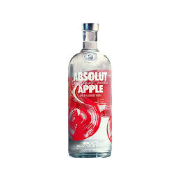 ABSOLUT VODKA APPEL 70CL
